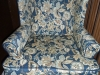 log house wing chair after