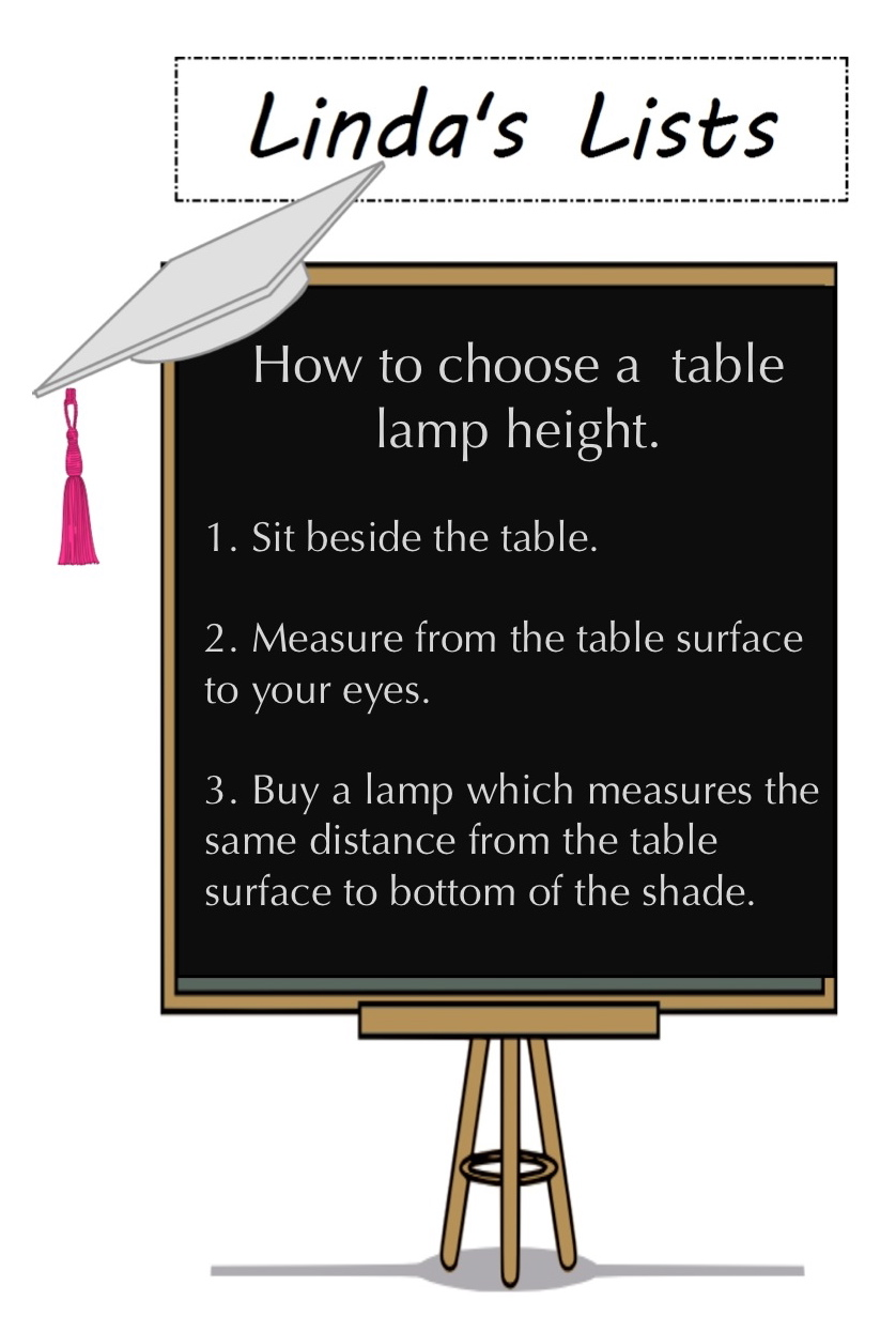 How Tall Should Your Side Table Lamp Be Design Dilemmas