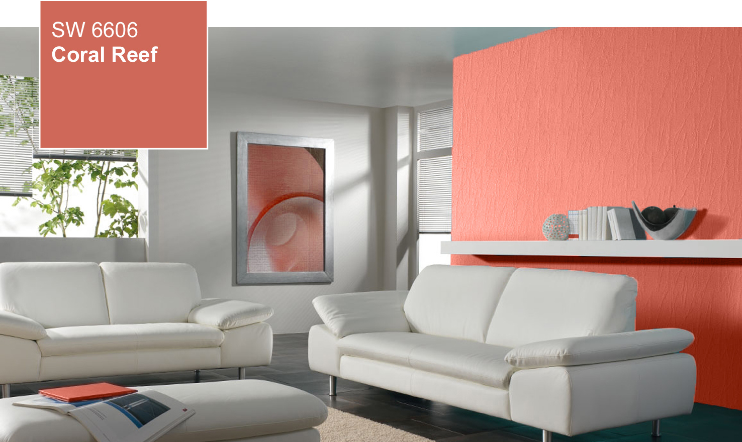 Coral Paint Colours For Kitchens