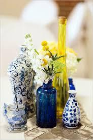 1 yellow vase