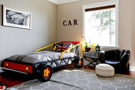 theme car bedroom